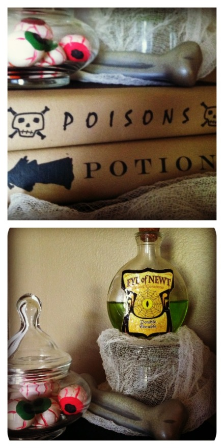 potions collage