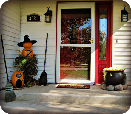 Halloween Porch And Diy Outdoor Halloween Decorations