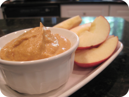 pumpkin flavored apple dip