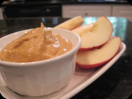 pumpkin flavored apple dip