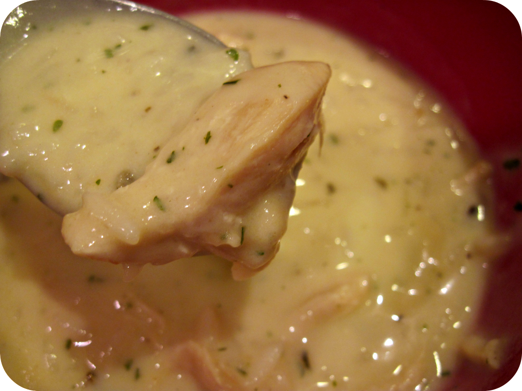 Fall comfort food: Creamy chicken and wild rice soup ...