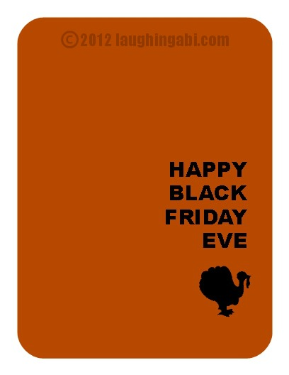 free Thanksgiving eCard from laughingabi.com